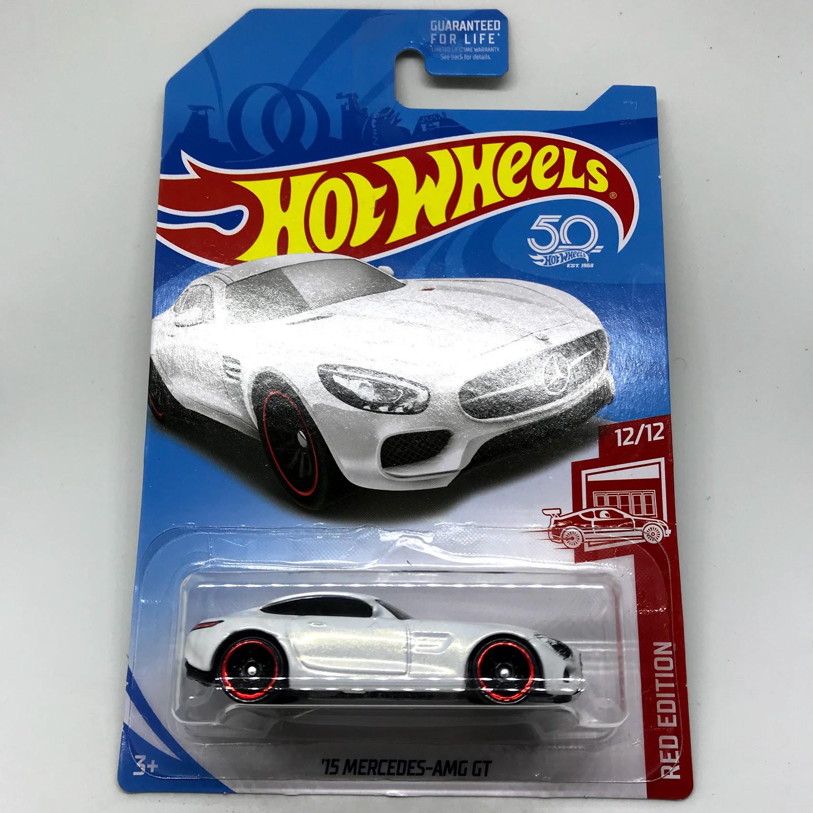 Julian's Hot Wheels Blog: 2015 Mercedes-AMG GT (2018 Target