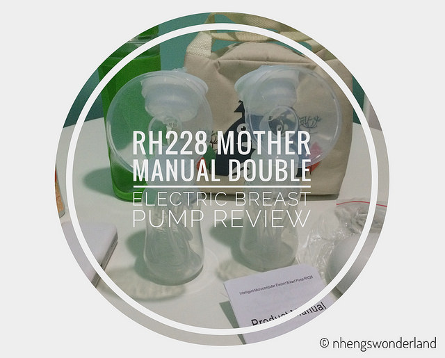 Rh228 Mother Manual Double Electric Breast Pump Review -9276