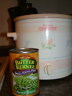 Butter Kernel Small Young Peas