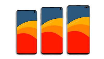 Samsung Galaxy S10 aur Galaxy S10e aur Galaxy S10 Plus Phone