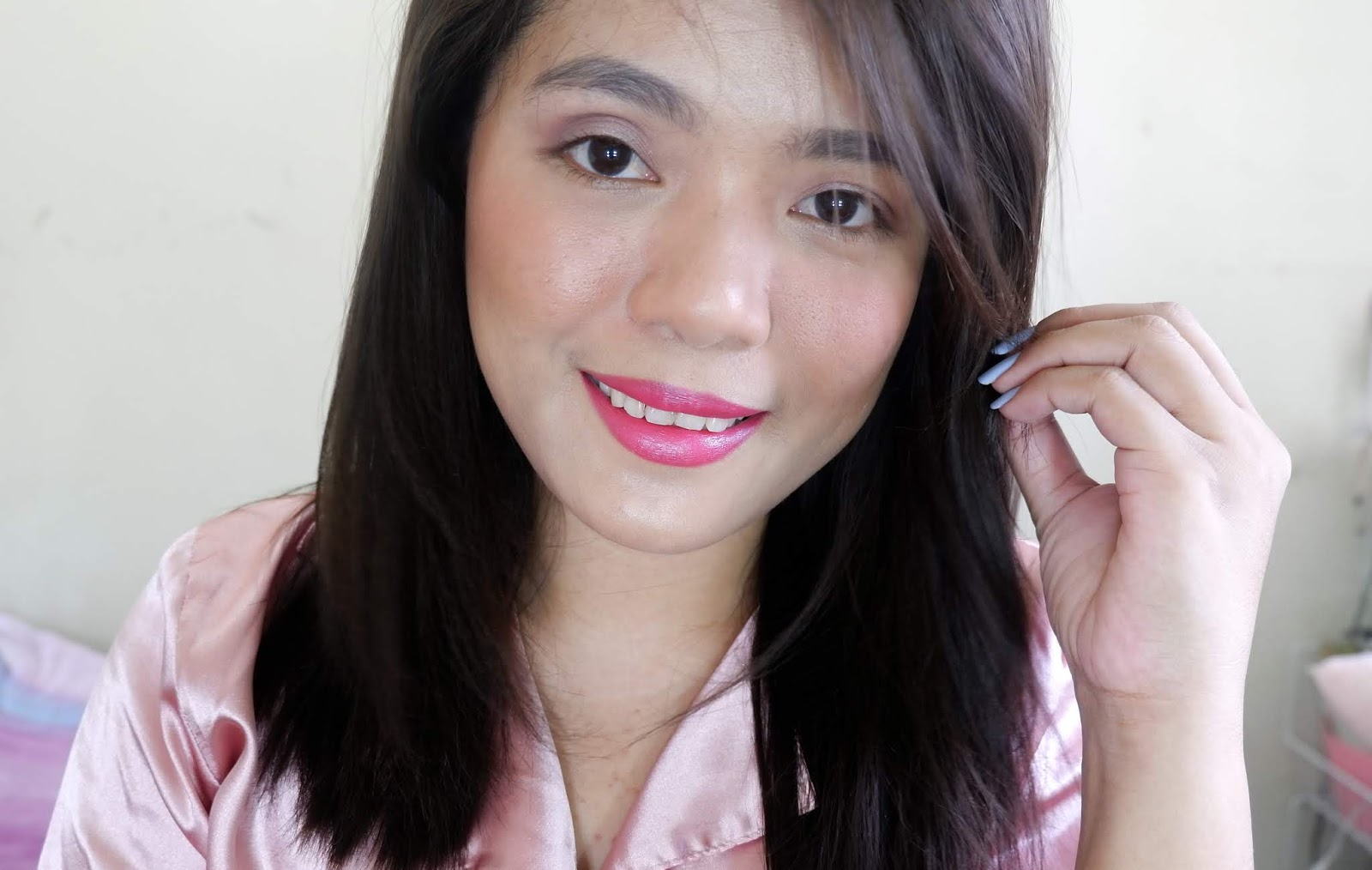 AVON MARK EPIC LIPSTICK REVIEW