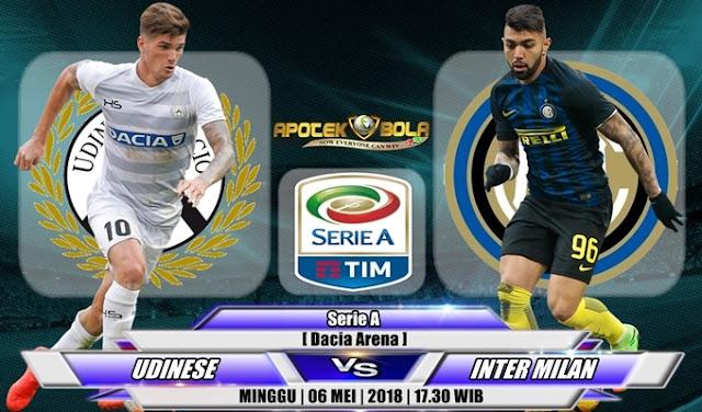Prediksi Udinese vs Inter Milan 06 Mei 2018