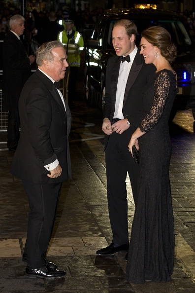 Kate Middleton and Prince William attend the Royal Variety Performance