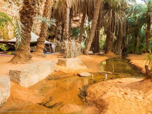 Khaima nell'oasi di Terjit