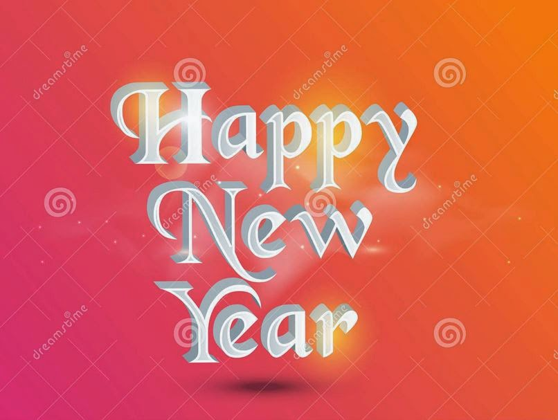 Happy New Year 2016 3D Text Images Free download