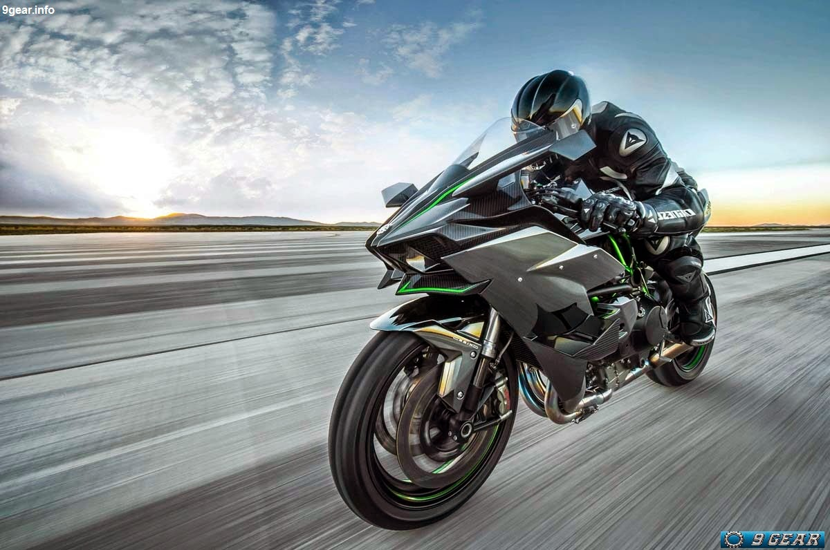 Surrounding The Ninja H2Rs High Output Engine Are A Multitude Of Premium Performance Components Selected Specifically For Unmatchable At