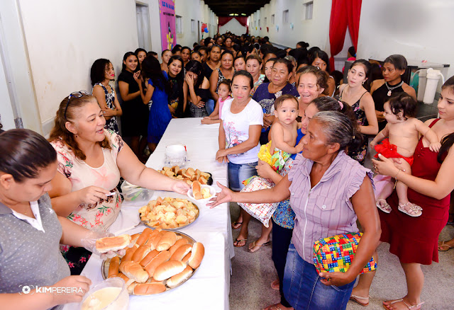 C.E Dr. Paulo Ramos realiza café da manhã em comemoração ao Dia das Mães