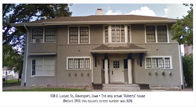 Home of E.C. Roberts Davenport Iowa, Gordon-Van Tine president, 918 E. Locust St