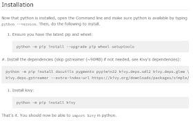 Kivy & Python: Instalación de Kivy y Python