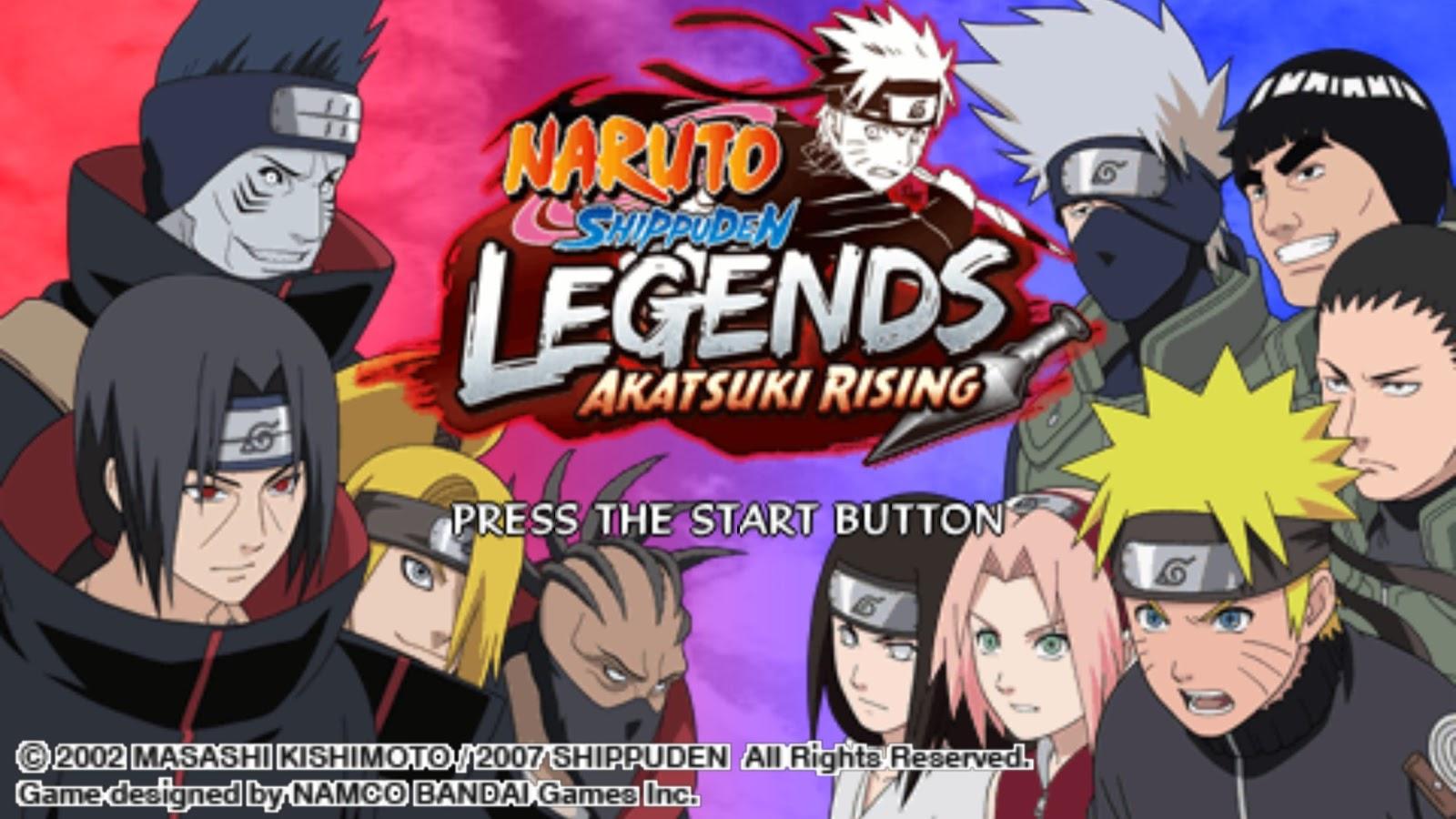 Download Kumpulan Game Naruto Shippuden PPSSPP Terbaru 2017 ...
