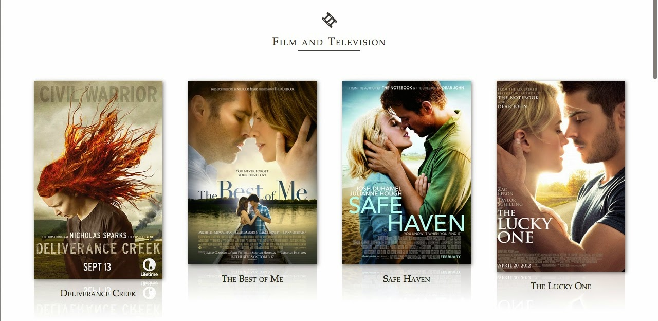 is nicholas sparks writing a new book 2014