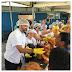Semana Santa: Diversos moradores recebem peixes na manhã desta terça,16, em Santo Antônio de Jesus