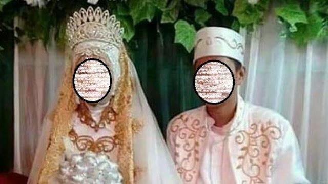 Pernikahan Anak di Bawah Umur di Halong, Kabupaten Balangan viral di Media Sosial