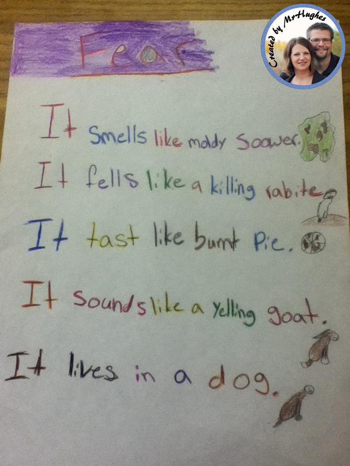 Poetry: Writing Noun Verses