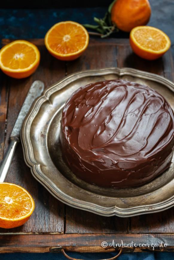 Andante Con Gusto Surprise Cake Lappassionata Intesa Tra Arancia