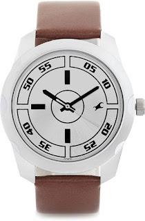 Fastrack NF3123SL02C Bare Basic Analog Men's Watch