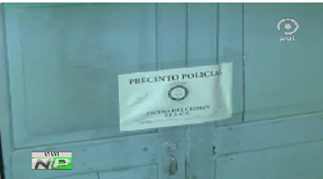 Casa de la calle Bautista, cerca de la Garita de Lima, quedó precintada / CAPTURA PANTALLA PAT