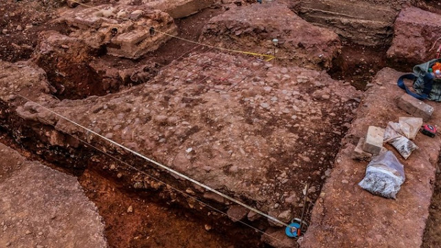 Roman remains unearthed in the heart of Exeter city centre