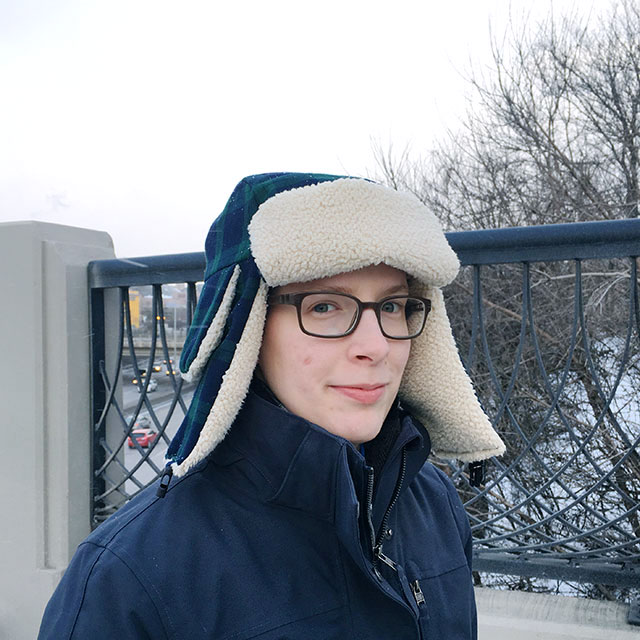 Chilly times call for warm hats! Pattern included to make your own bomber hat