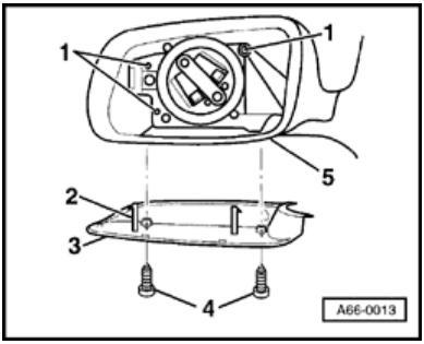 simplefoo wiring diagram: Audi A4-S4 B5 Mirrors Housing