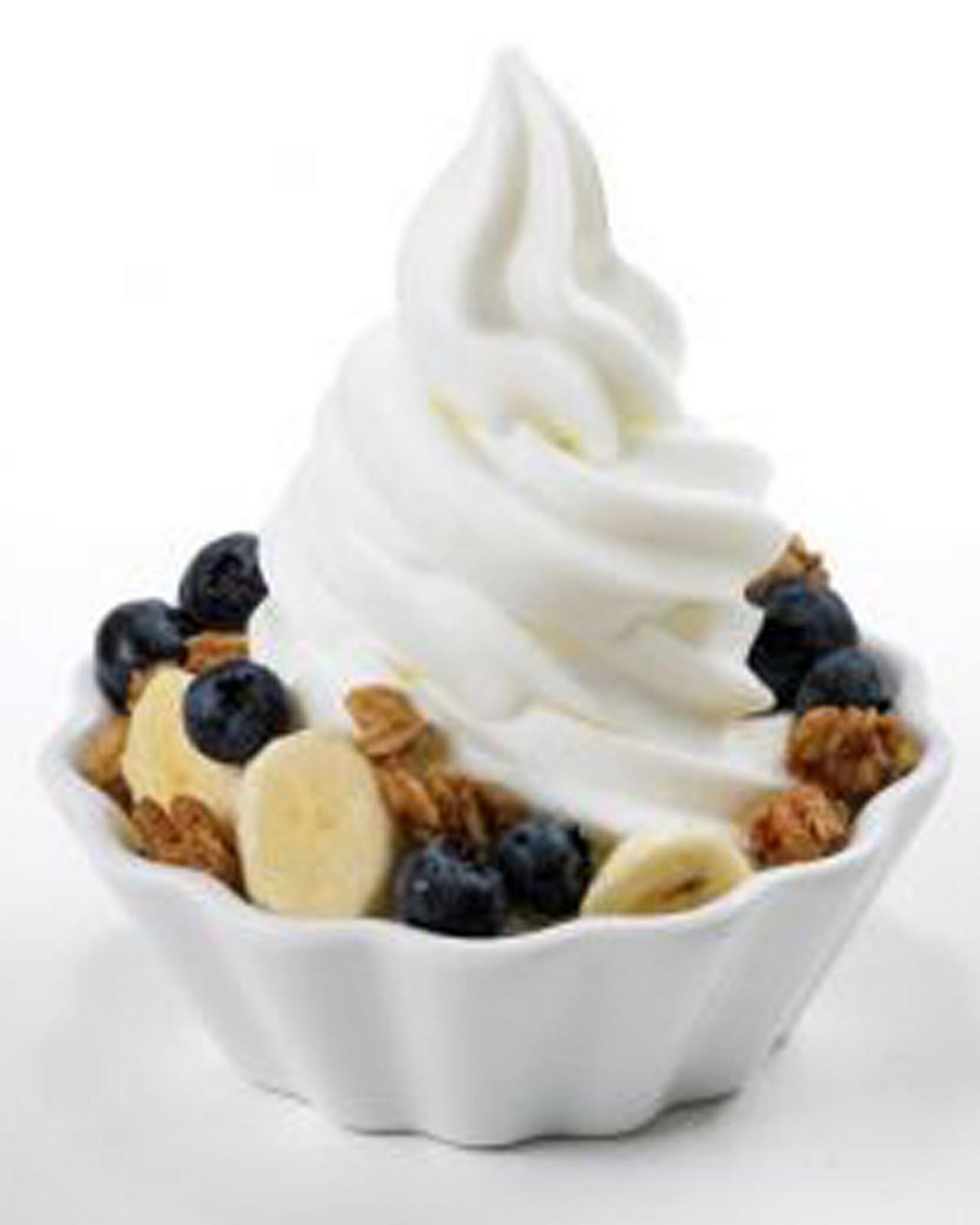 Clip Art Frozen Yogurt