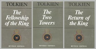 Lord of the Rings in three volumes