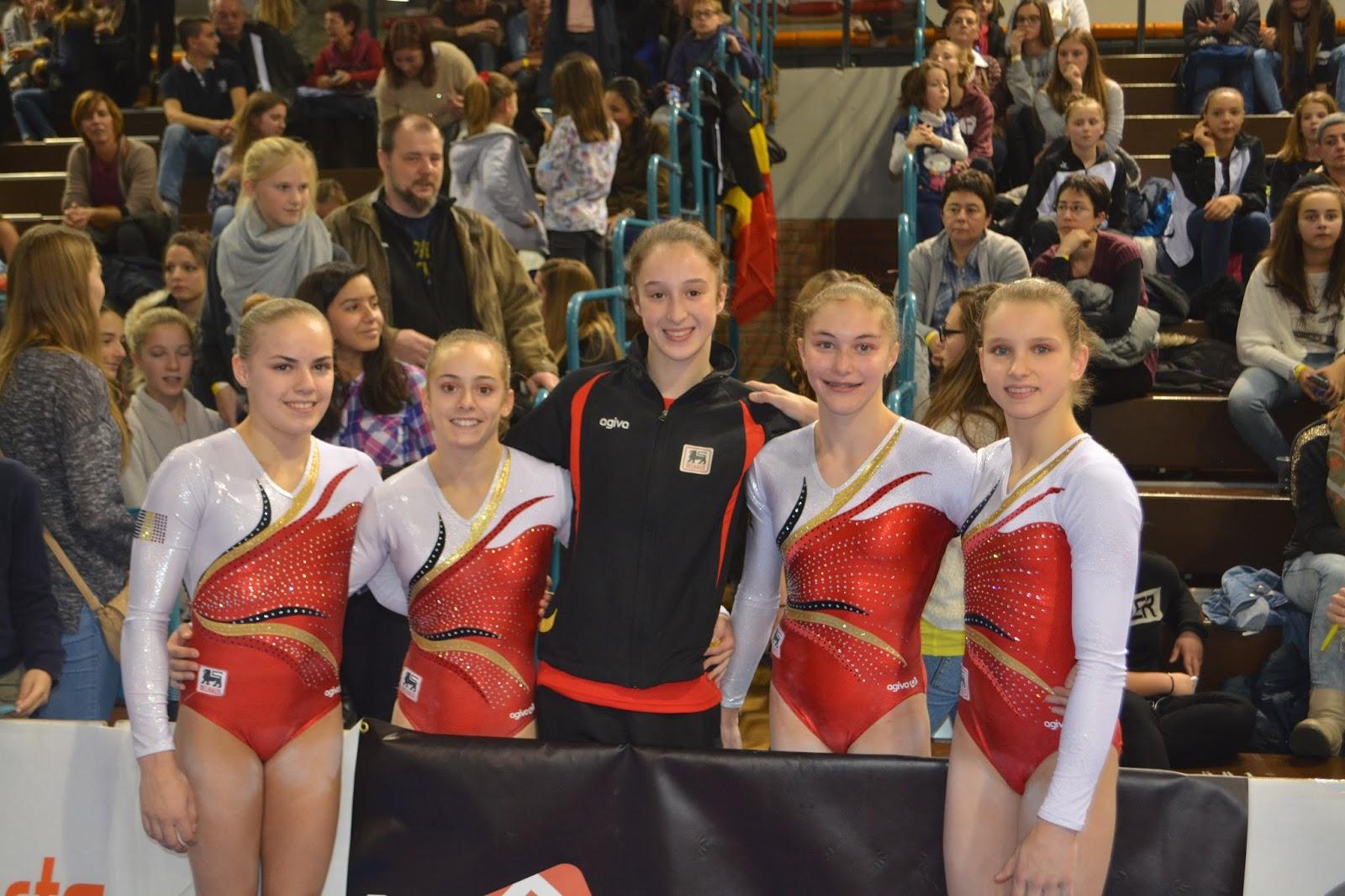 Belgian Gymnastics Top Gym 2015 Gold For Axelle Klinckaert