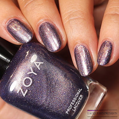 nail polish swatch and review of Devin from the Zoya Element collection for Fall 2018
