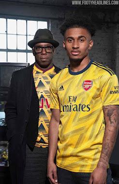 Adidas Arsenal 19-20 Away Kit Released - 'Bruised Banana' - Footy