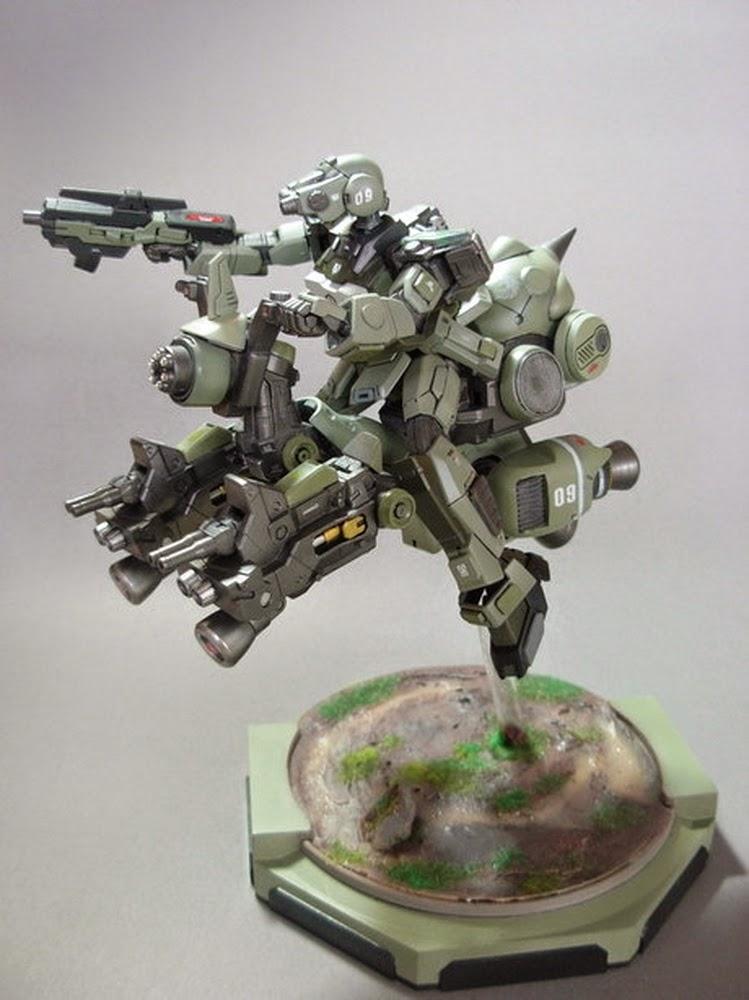 Custom Build 1 144 Adele Custom K Driver Gundam Kits