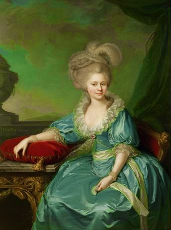 Elisabeth of Württemberg by Johann Baptist von Lampi the Elder, 1785