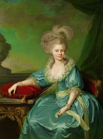Elisabeth of Württemberg by Johann Baptist von Lampi the Elder, 1785