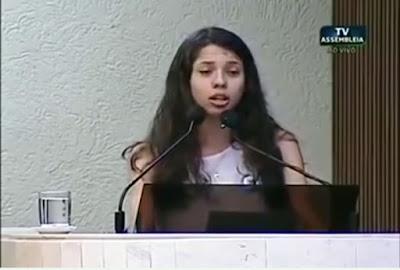 Ana Julia Ocupação das Escolas - Blog do Asno