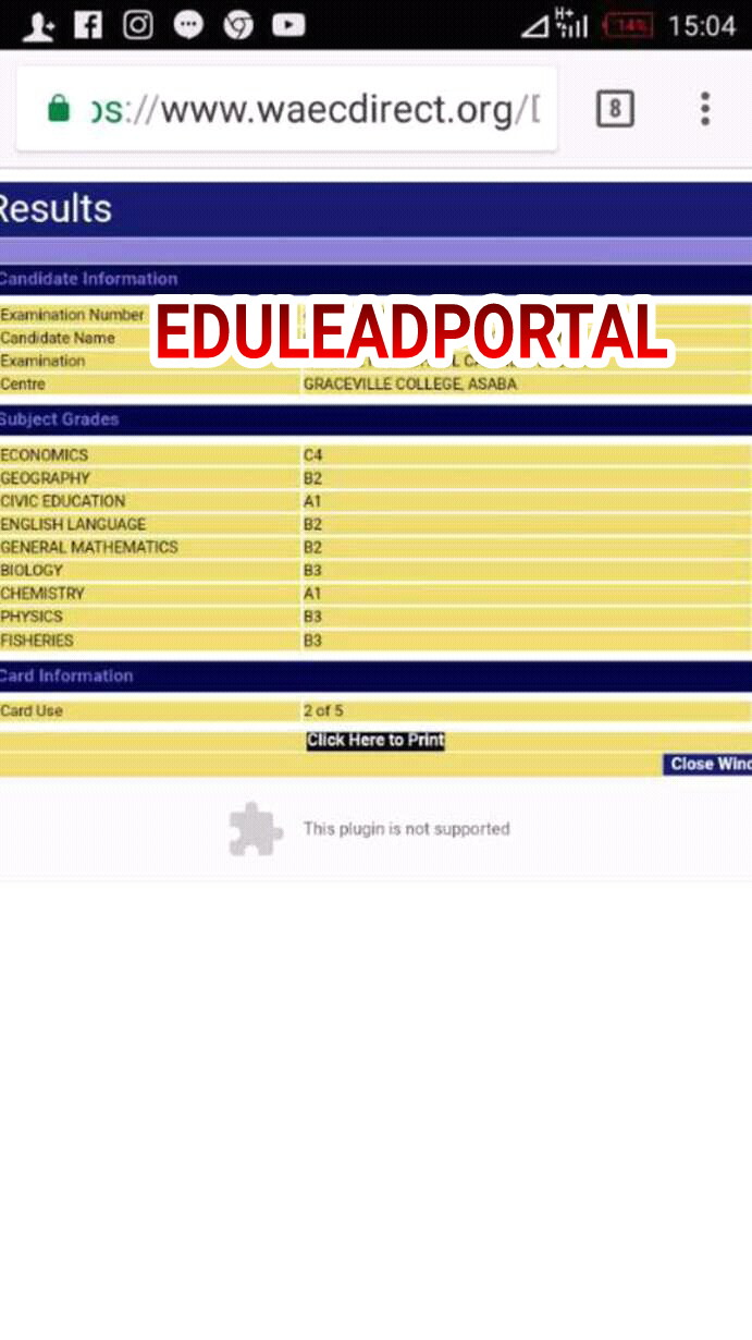 2018/2019 WAEC GCE ENGLISH LANGUAGE EXPO, RUNS| 2018/2019 WAEC GCE