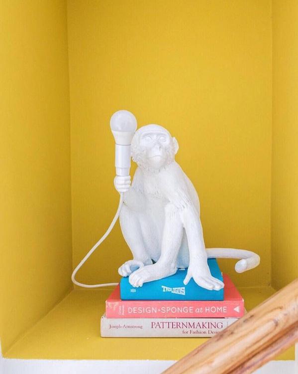 casa de los sueños balamoda lámpara mono