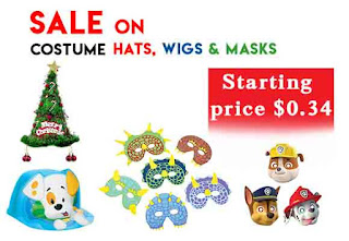 costume hats, wigs & masks
