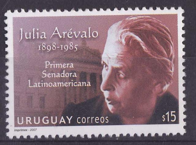 Julia Arévalo primer senadora latinoamericana