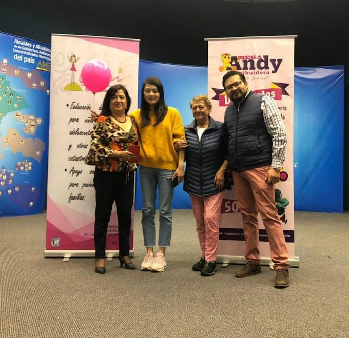 Fundación Camila Salomé y Mega Andy recordaron el Día Internacional de Cáncer Infantil