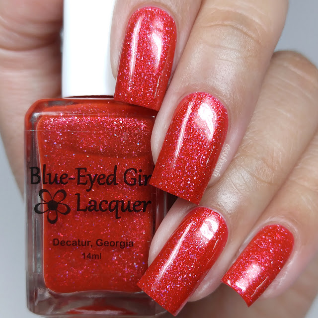 Blue Eyed Girl Lacquer - Mermaids in London