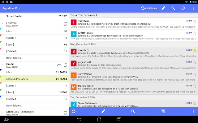 Aqua%2BMail%2BPro%2Bscrn Aqua Mail Pro - email app v1.9.0-345 Final Stable APK [Latest] Apps