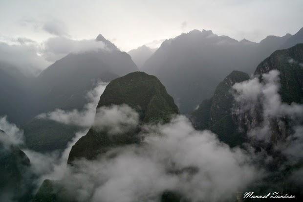 Machu Picchu, montagne circostanti