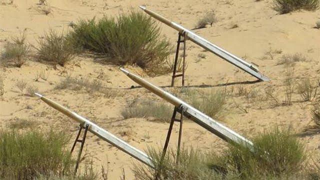 Plataforma de lanzamiento de cohetes de ISIS en Sinaí