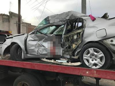 Fatal accidente deja un muerto en Hermosillo