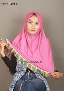 jilbab simple