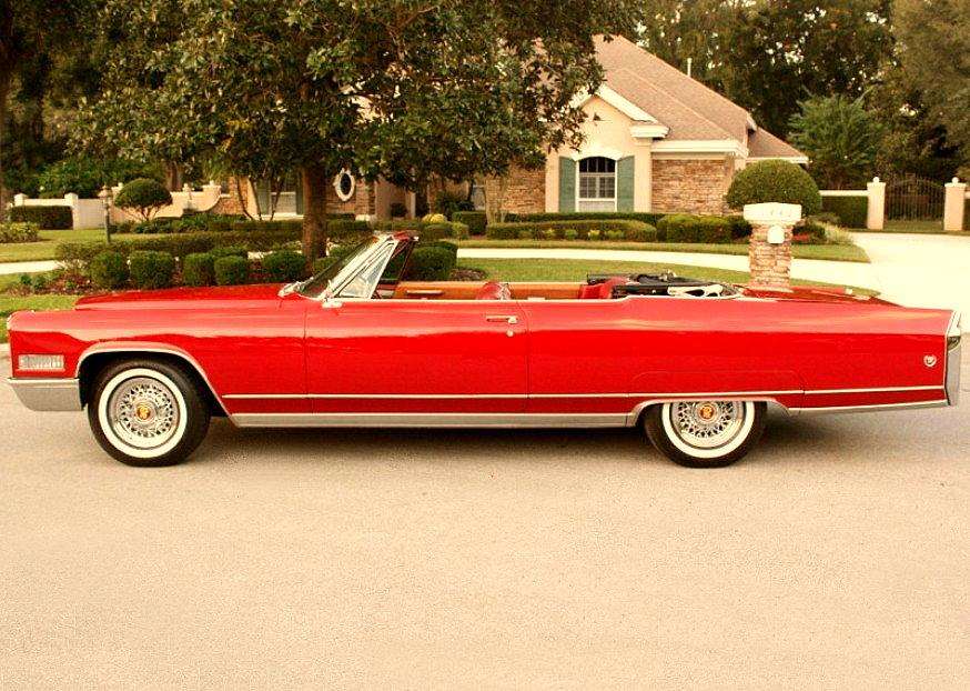MUSCLE CAR COLLECTION : 1966 Cadillac Eldorado Coupe Convertible