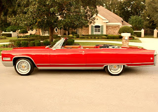 1966 Cadillac Eldorado Coupe Convertible Side Left