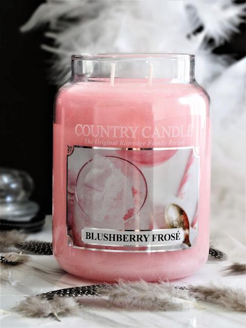 avis Blushberry Frosé de Country Candle, blushberry frose country candle, avis bougie country candle, country candle review, blushberry frose review, blog bougie, candle review, scented candle