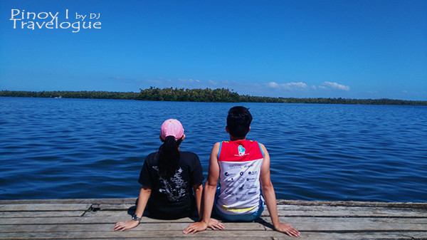 Couple's moment at Lake Danao Park