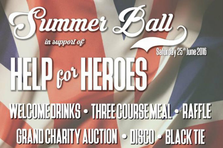 Help for Heroes Summer Ball