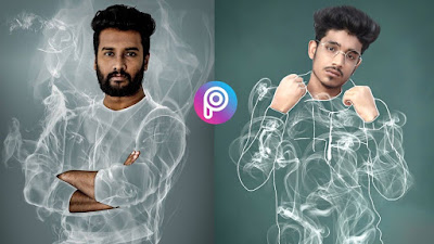 Smoke cloth picsart photo editing 2020 narendra gohel inspired